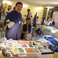 Abdur Rashid in Gems Stones Exhibitions